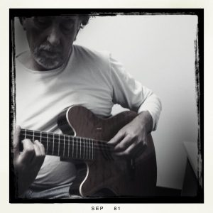 Jeremy Sawkins guitar tutor at JWA summer jaz camp