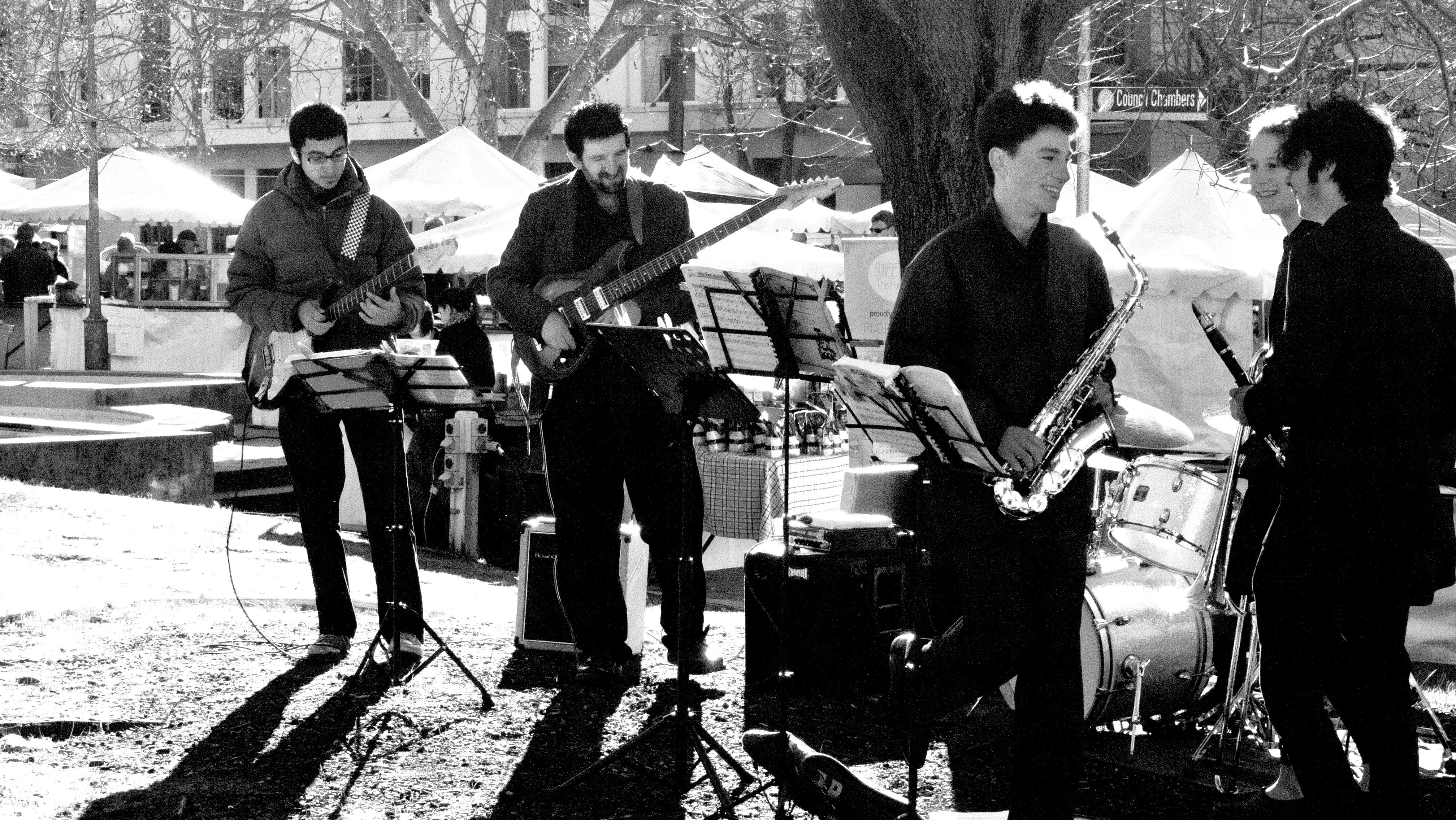 JWA jazz combo at a performance