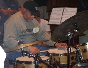 clinic with Jimmy Cobb