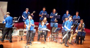 JWA Tour Band at Frank collymore Hall