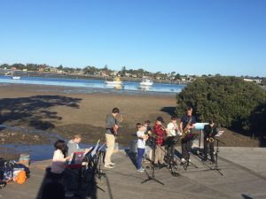 JWA jr combo at waterfront cafe, Merimbula