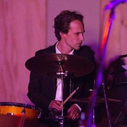 Drum teacher Jamie Cameron at JWA north shore studio