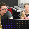 First trumpet lesson for a beginner at JWA