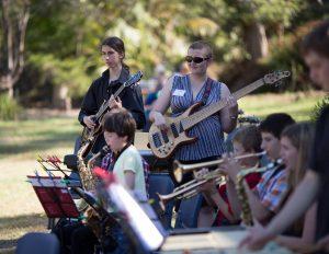Jazz Camp students