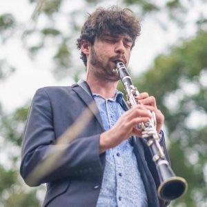 Ben Samules, clarinet and saxophone teacher at JWA, St Leonards / Crows Nest