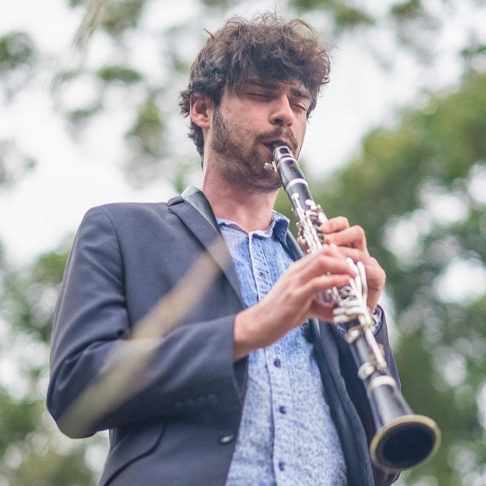 Ben Samules, clarinet and saxophone teacher at JWA, St Leonards / Crows Nest