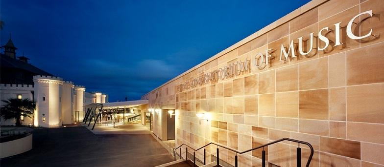 Sydney Conservatorium entrance