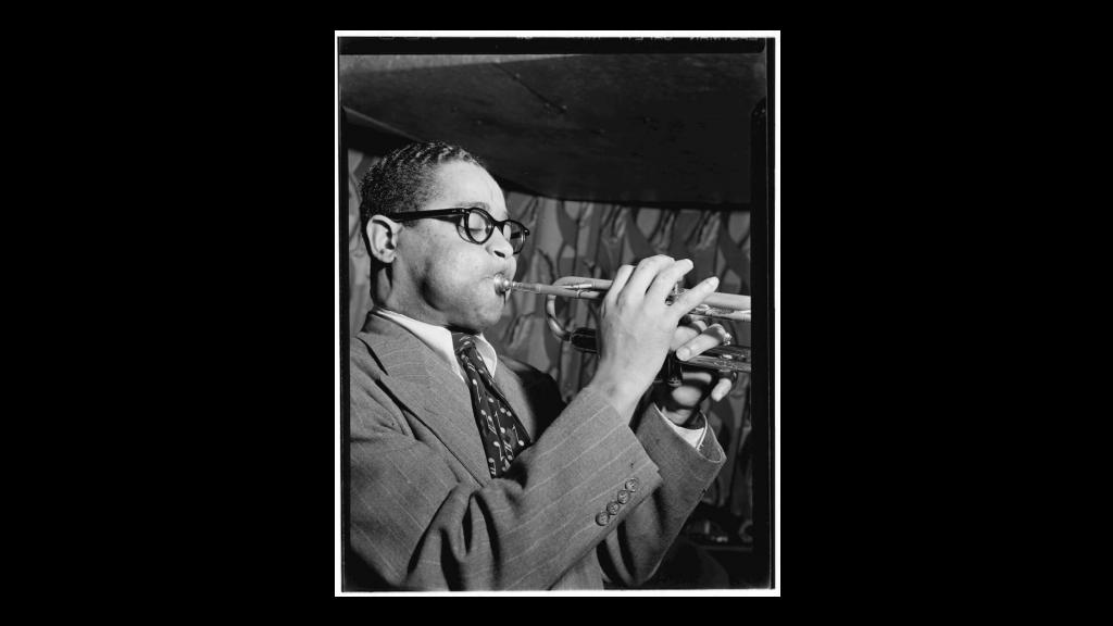 Portrait of Dizzy Gillespie by W. Gottlieb