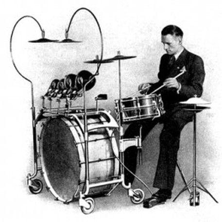 1920s drum set