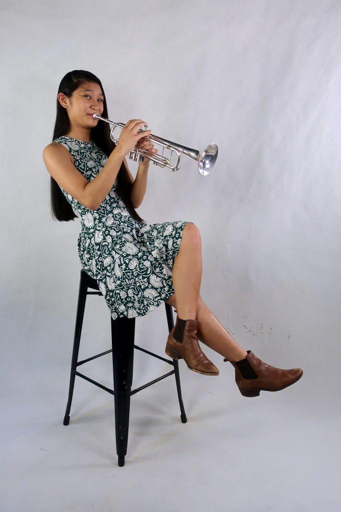 Bernice Tesara trumpet teacher