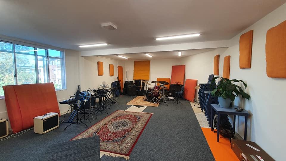 Jazz Combo rehearsal space at JWA